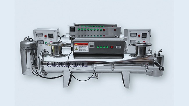 恒大集团采购光普桂川紫外线消毒设备