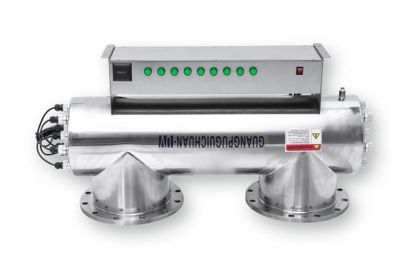 光普生产的市政供水专用紫外线消毒器