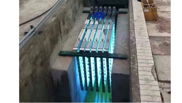 污水处理厂紫外线消毒器应用案例